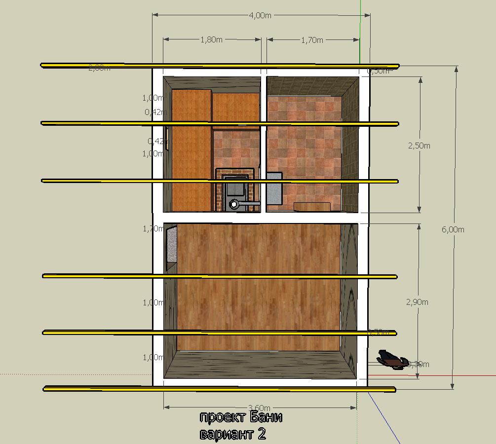Как построить баню своими руками 6х4 82